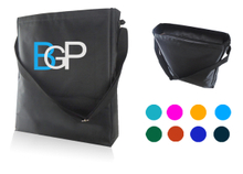 Custom Logo Promtional Messenger Bag With Matched Handle