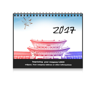 Custom Deluxe Inspiration Desk Pad Calendar