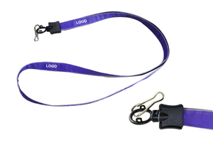 "Custom Promotional 3/5"" Plain Nylon Lanyard"