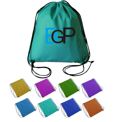 Custom Non-Woven Drawstring Backpack Bag