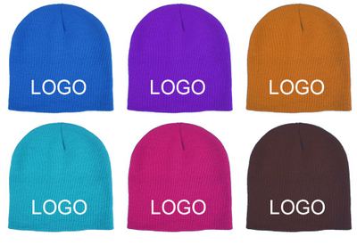 Custom Promotional Acrylic Knit Beanies For Kids with Logo