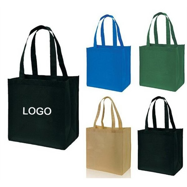 Imprinted 80GSM Non-Woven Tote Shopper Bag