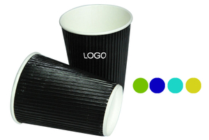 12 oz. Corrugated Double Layer Paper Cup
