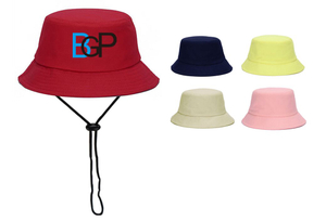 Fisherman Bucket Hat With String