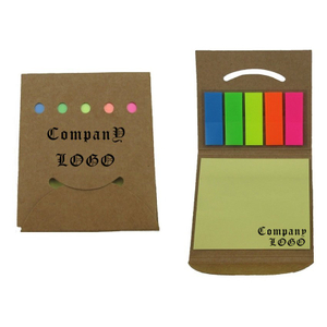 Promotional Sticky Note Pad Booklet In Pocket Case