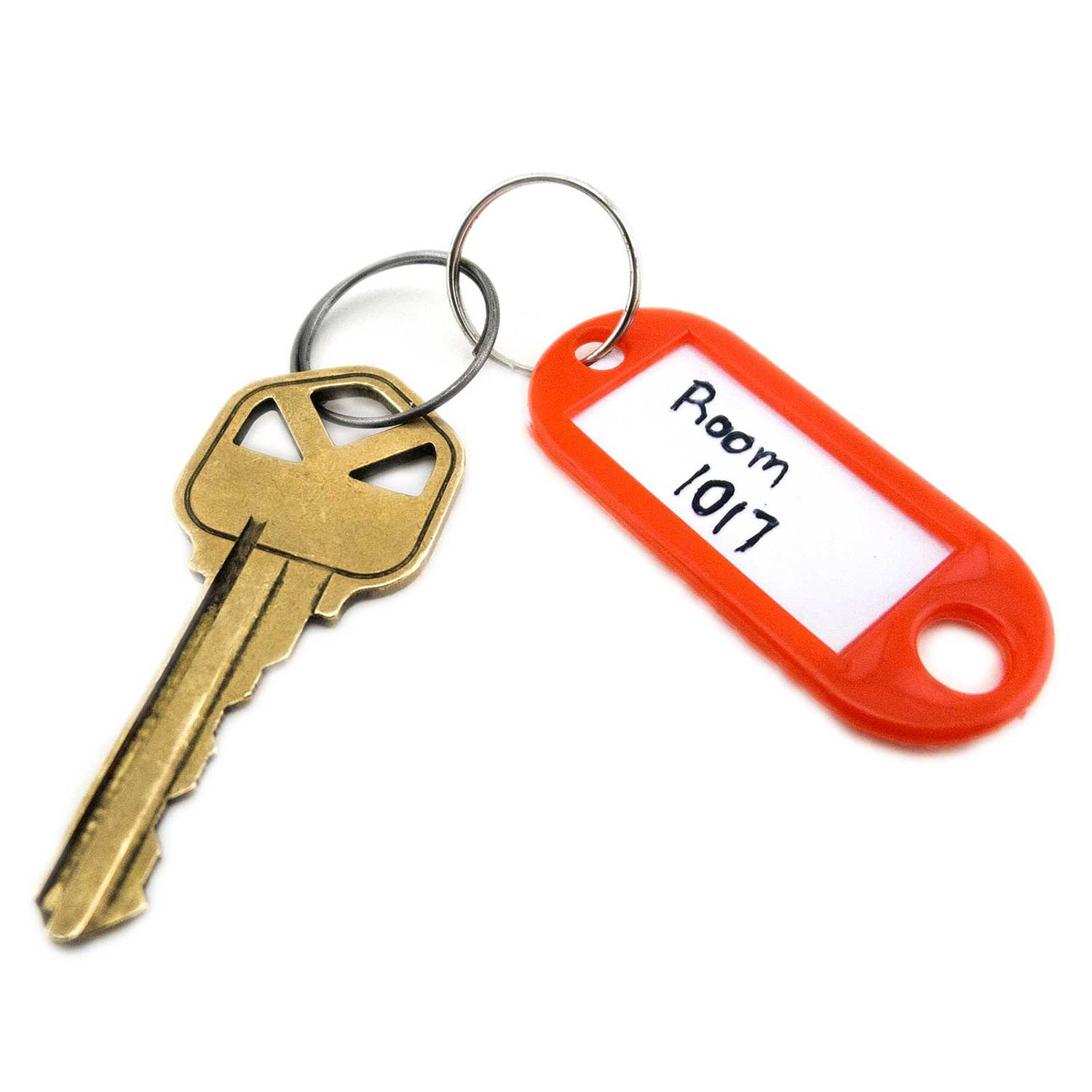 Promotional Writable Paper Card Keychain