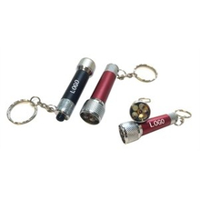 Imprinted LED Flashlight Keychain