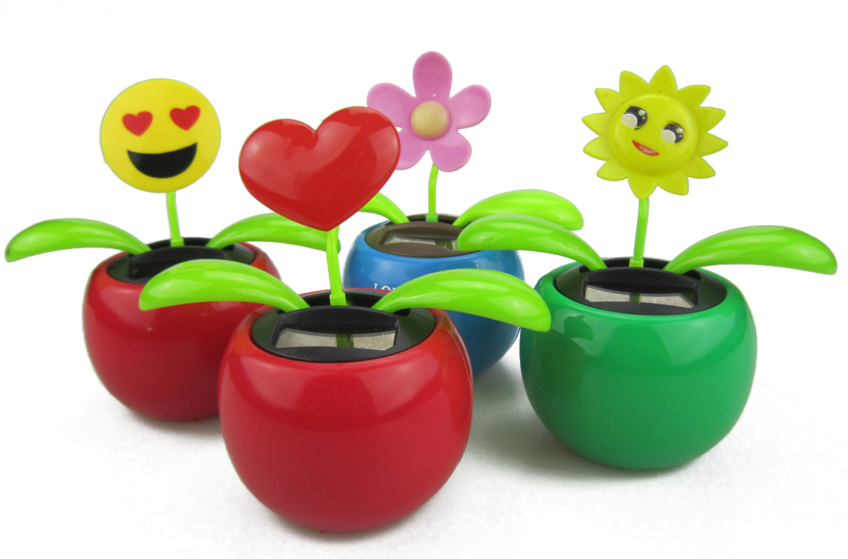 0c31583cb Custom Solar Powered Moving Flower Toy - Buy flip flaps with logo ...