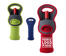 Single Neoprene Insulated Wine Bottle Holder