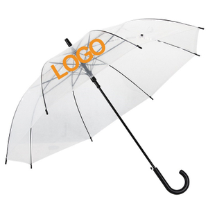 Custom Clear Rain Umbrella