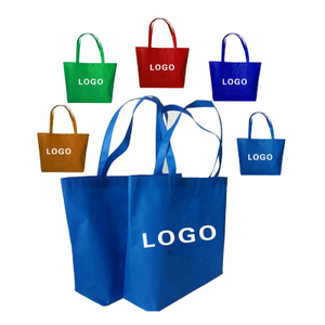 Custom Printed Logo Non-woven Grocery Tote Bags