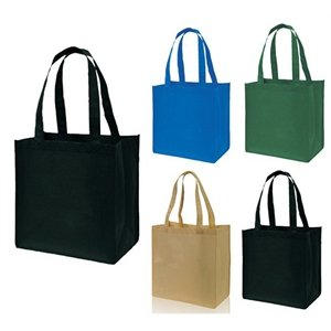 Imprinted Custom Non-Woven Grocery Tote Shopping Bag