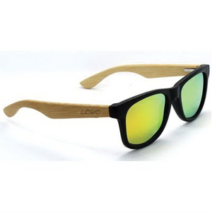 Customized Bamboo Color Film Sunglasses