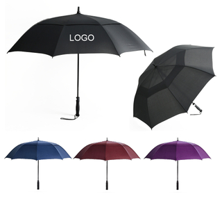 "62"" Vented Folding Golf Umbrella"