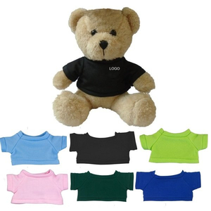 "Custom 6"" Mini Teddy Bear with T-shirt"