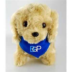 Customized Stuffed Animal Toy Floppy Dog With Bandana