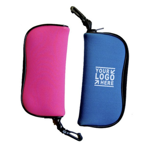 Customized Neoprene Glasses Case With Hanger