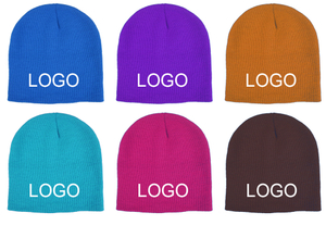 Custom Printed Acrylic Knit Beanies For Kids