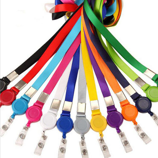 Promotional Badge Lanyard with Retractable Belt Clip