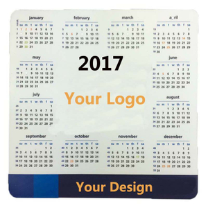 Customized Full Color Calendar Mouse Pad