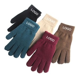 Promotional Unisex Winter Knitted Warm Gloves