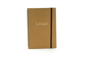"6.1"" x 8.5"" Eco Handy Recycled Pocket Spiral Notebook"