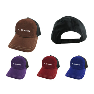 Promotional Custom Grinding Cotton Structured Basebal Hat with Logo