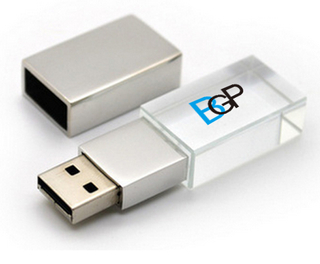 Crystal USB Flash Drive 8GB