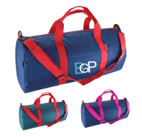 Large Waterproof PU Travel Duffel Bag