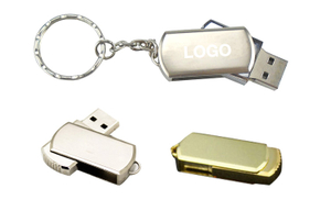 Custom Promotional Swivel USB Flash Drive