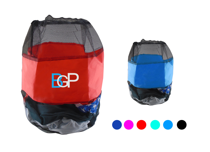 Promotional Mesh Laundry Bag Drawstring