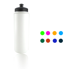 Custom Promotional Sports Runner Plastic Water Bottle 35oz
