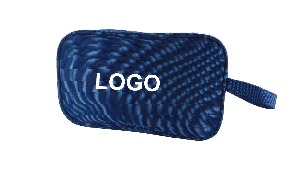 "Promotional Custom Personal Logo Travel Toiletry Bag-10.8 "" x 3.3 "" x 6.3 """