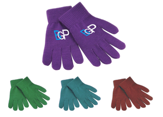 Custom Logo Promotional Acrylic Knitted Gloves