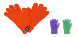 Custom Logo Promotional Winter Acrylic Knitted Gloves