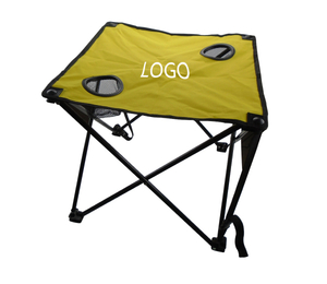 Custom Logo Portable Table with Cup Holders
