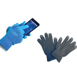 Touch Screen Winter Custom Gloves