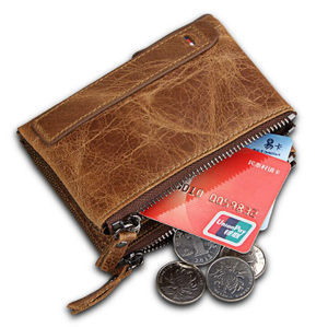 Men's Genuine Leather Bifold Wallet