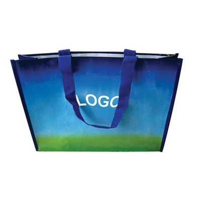 Print Reusable Laminated Shopping Tote Bag