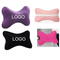 Print Dog Bone Car Neck Rest Pillow