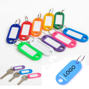 Print Plastic ID Luggage Key Tags