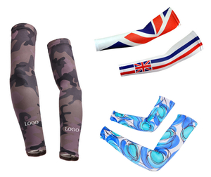 Full Color Imprint 16 Inch Outdoor Arm Sleeves Protection