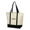Canvas Boat Tote Shopping Bag