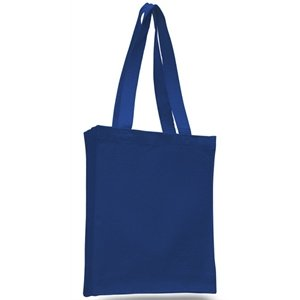 Cheap Canvas Tote Book Shopping Bag With Gusset