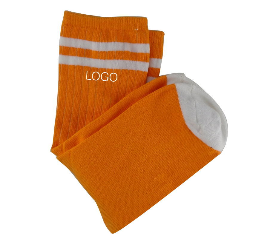 Custom Printed Teenager Cotton Sports Socks