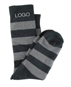 Custom Athletic Bamboo Fiber Striped Kids Socks
