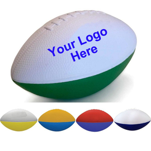 "Promotional 6"" Two-Toned Foam Footballs"
