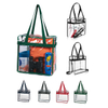 Clear Zippered PVC Tote Bags