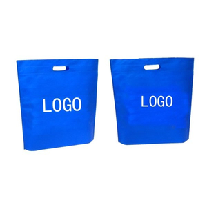 Customized Cut-Out Handle Tote Bag