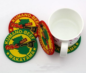 Promotional Soft PVC Coasters 2D